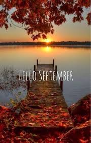beauty lake hello september image quote