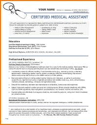 Certified Medical Assistant Resume Classy 48 Lovely Images Of How To Get Medical Assistant Certification