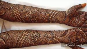Full Hand Bridal Mehndi Designs Indian Wedding Repeat Traditional Rajasthani Bridal Henna Mehndi Design