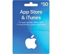 50 app itunes gift card