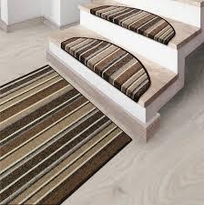 brown carpet floor. Striped Runner Rugs - Matching Stair Protectors Brown Carpet Floor U