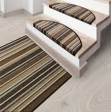 striped runner rugs matching stair protectors