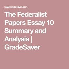The Avalon Project   The Federalist Papers No    SlideShare