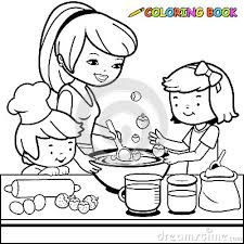 Small Picture Kids Cooking Coloring PagesCookingPrintable Coloring Pages Free