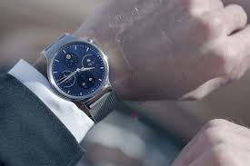 huawei smartwatch on wrist. the huawei watch is official, as company just announced first smartwatch in its line of wearables here at mobile world congress, confirming on wrist