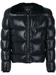 roberto cavalli badge down jacket black men finest selection roberto cavalli sunglasses saks whole