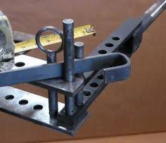 easy metal projects for high school. homemade metal bender constructed from flat steel bar stock and rods. easy projects for high school