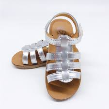 fashion sandal girls summer 2019 baby shoes outdoor toddler leather sandals roman style casual princess sandals kids shoes leather sandals baby boy sandles