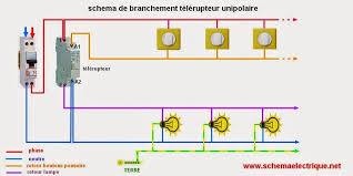 Couleur Neutre · Schéma Electrique Télérupteur Unipolaire Branchement  Electrique, Installation Electrique, Pistolet De Bande De Caoutchouc,
