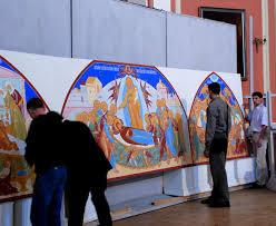 Защиты дипломных работ института им И Е Репина Архив выставок  Фото М Назарова В Голубин