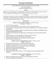 Quality Assurance Analyst Resume Delectable Analyst Resume Similar Resumes Software Samples Qa Quality Assurance