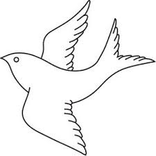 flying bird clipart black and white. Brilliant Clipart Bird Clipart  Bird Clipart Image In Flight Outline Drawing Coloring  Page With Flying Black And White O