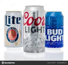 Coors Light Bud Light Can Of Drink Stock Editorial Photo Homank76 279372264