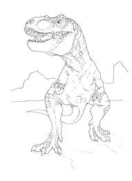 Small Picture T Rex Coloring Pages to Color Stripping T Rex Coloring Page
