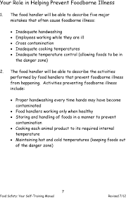 ratures inadequate rature control allowing foods to be in the danger zone 2