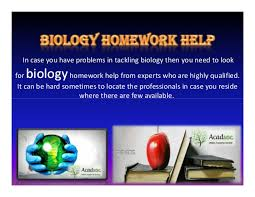 benefits of accessing biology homework help online biology