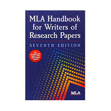 MLA Format Sample Paper   th Edition   MLA Format x  Copies MLA Handbook for Writers of Research Papers Seventh  th Edition
