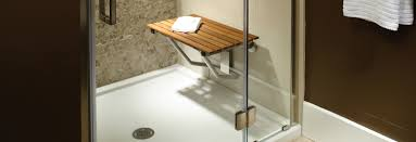 teak options for tubs sinks and showers