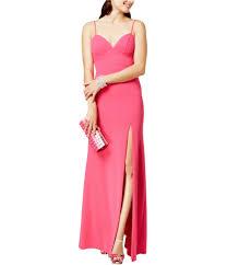 B Darlin Size Chart Details About B Darlin Womens Slip Gown Dress Hotpink 5 6 Juniors