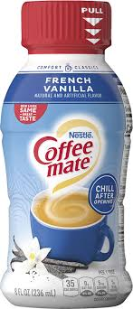 This is the only flavor i use as creamer for my coffee. Creamer Sabor French Vanilla Liquido Coffee Mate