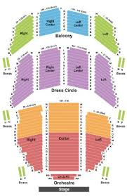 Emerson Colonial Theater Seating Chart David Byrnes American Utopia Boston Tickets Section Zone