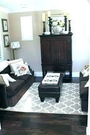 area rugs for dark brown furniture dark area rug with brown couch best ideas on decor