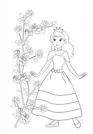 Small Picture Princess Coloring Pages