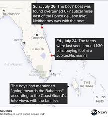 Search For Teens Coast Guard Will Suspend Search Tonight For Teens Missing At Sea