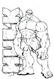 Hulk Coloring Pages 22391 Luxalobeautysorg