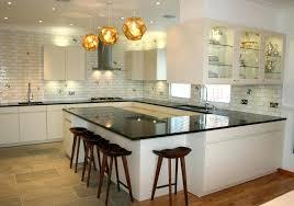 recessed lighting kitchen modern kitchen lighting ideas with recessed lighting and triple pendant lamps over black