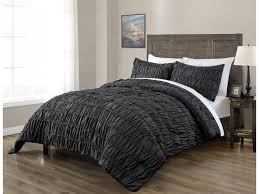 ruched beddings 3 piece full size pich