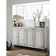 just arrived white accent cabinet signature design by ashley mirimyn antique