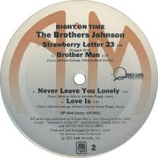 the brothers johnson right on time 10 ab