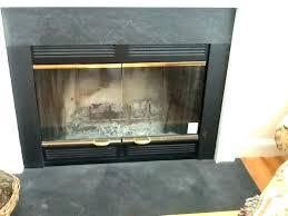 replace fireplace glass fireplace replace broken fireplace glass doors