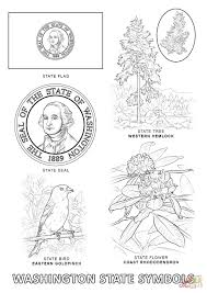 Small Picture Washington State Symbols coloring page Free Printable Coloring Pages