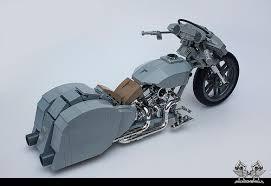 harley bagger rat bike bricknerd your place for all things