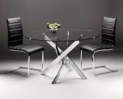 dining tables awesome round dining table round dining table for 4 metal and glass