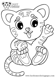 Small Picture Baby Tiger Coloring Pages Bratz Coloring Pages Coloring pages