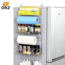 refrigerator racks. orz refrigerator rack side shelf sidewall holder multipurpose spice space crack storage estante fridge kitchen organizer racks i