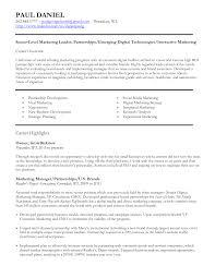 Digital Marketing Manager Resume Berathen Com
