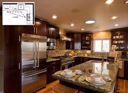 Efficient Kitchen Designs: L-Shape