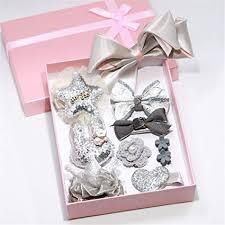 Yesiidor <b>10 PCS Hair</b> Accessories Set Girl Bowknot Flower Hair Clip ...