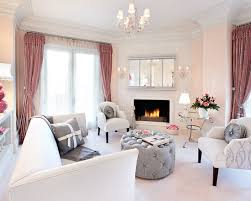 mix of grey and pink for chic living