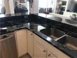matrix titanium prada gold cosmic cosmos black granite countertops