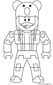 This guide will show you all the codes of all 128 robloxian colorsalso please subscribe! Roblox Character Men Coloring Pages Printable