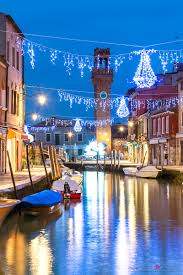 Christmas Lights In Venice Matteo Colombo Travel Photography Canal With Christmas
