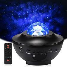 Star Projector Night Light, Delicacy Sky Laser Ocean Wave <b>Starry</b> ...