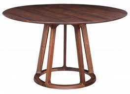 round walnut dining table. Aldo-round-dining-table-walnut Round Walnut Dining Table