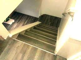 tile stair nosing vinyl plank treads over carpet why ng luxury trim installation