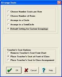 Seating Charts Blackboard Help